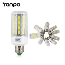 5730 SMD LED lamp Blubs E27 220V Corn Lights 24 30 42 64 80 89 108 165Leds Radiation cover lampada Led Candle Lighting Warm Cool(China)