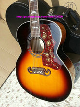 China Guitar factory 200vs 12 Strings Acoustic Guitar Sunburst China guitar Factory from china Free shipping(China)