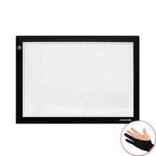 "17.7"" LED Light Box 5mm Thinckness Touch Brightness USB Tracing Board Professional Anime Tatoo Stencil Tracking Huion L4S Glove"