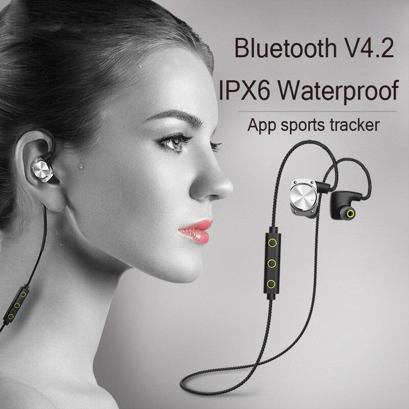 Original U6 Bluetooth 4.2 Headset Stereo IPX6 Waterproof Earphone Wireless Earbuds Sport Headphones Running For Iphone xiaomi<br>