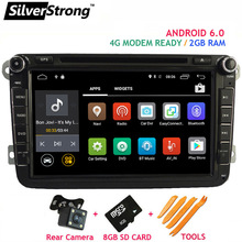 SilverStrong Android Jetta Car DVD for Volkswagen Golf mk6 5 Polo Tiguan Passat B6 5 cc for skoda octavia fabia AD66S