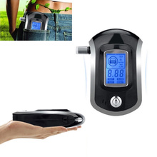 New Portable Alcohol Tester With Digital Display Breathalyzer Analyzer For For AT6000 Smart Breath Alcohol Detector Gadget