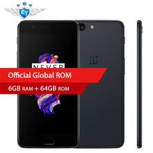 Original Oneplus 5 Mobile Phone Snapdragon 835 Octa Core 6GB 64GB 5.5 Inch 1080P 4G FDD 20.0MP Google Play Fingerprint ID 5V 4A(China)