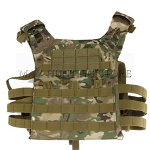 Tactical Plate Carrier Ammo JPC Vest Airsoft Paintball Wargame SWAT Gear Adjustable Shoulder Strap Hunting Molle Vest(China)