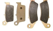 Brake Pads set for KAWASAKI Dirt KX250 KX 250 2000 2001 2002 2003 2004 2005 2006 2007 2008 2009 2010 2011 2012 2013 2014 2015