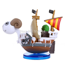 Free Shipping Japanese Anime Cartoon One Piece Golden Mary Ship Model PVC Figure Toys Doll OPFG376(China)