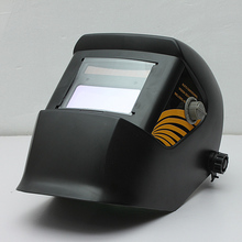 Hot Sale Black Solar Welding Helmet Auto-Darkening ARC Mig Tig Mag Spot Argon Arc Welding Grinding For Welder Mask Free Shipping