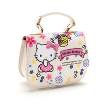 2015 New Brand Children baby girls cute hello kitty handbag /Kids Cartoon Handbag/ Dsigns shoulder bags princess message bag