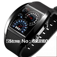 Light Digital LED Military Watch Race Speed Car Dot Fashion Luxury Brand Silicone Strap Men Sports Watches