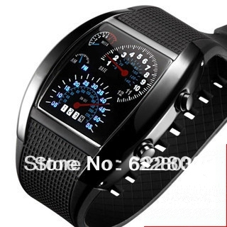 Light Digital LED Military Watch Race Speed Car Dot Fashion Luxury Brand Silicone Strap Men Sports Watches<br><br>Aliexpress