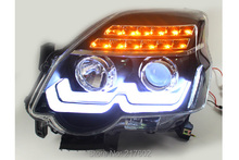 for NISSAN X-Trail LED head lamps 2012 year V2 type LED turn signal lamp LD(China)