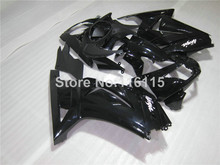 Fairing kit for Kawasaki Ninja fairings 250r 2008- 2014 injection molding EX250 08-14 all glossy black custom set ZX250 NZ31