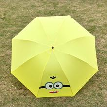 new arrvie girl boy kid Child lovely and creative Transformers rain umbrellas(China)
