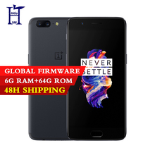 Original  Oneplus 5 Snapdragon 835 6/8GB RAM 64/128GB ROM Octa Core 3300mAh 16.0MP+20.0MP NFC Play Store Smart phone  Dual SIM