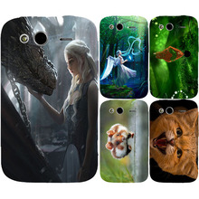New For HTC Wildfire S G13 Phone Case,Painting Colored Case Dragon Mother Angel Cute Animal Cat Mouse Anime Cartoon Sheer Bags(China)