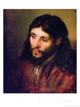 wall art modern Head of Christ circa Rembrandt van Rijn Paintings Hand painted High quality