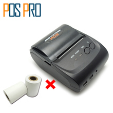 IMP006 Hot sales Mobile Mini Portable Thermal Receipt Printer Handheld Pos Printers Bluetooth4.0 for android iOS and PC