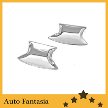 Chrome trim strips chrome door cavity cover - for Honda Accord USDM Coupe 08-12 - free shipping