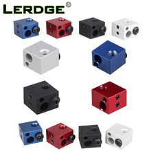 Buy LERDGE Aluminium Heat Block J-head Extruder HotEnd 3D Printers Parts Heater Hot End Heating Accessories 17*16*12mm Part 1PCS for $1.39 in AliExpress store