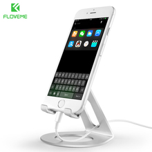 FLOVEME Phone Holder For iPhone 7 8 X Universal Mobile Phone Stand For Samsung Xiaomi Smartphone Tablet iPad Luxury Desk Holder(China)