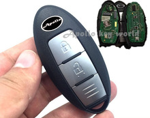 2 Buttons Smart Remote Key For Infiniti ESQ Electronic ID46 Chip With 434Mhz Car Alarm Keyless Entry Fob