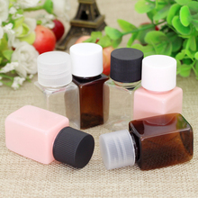 10ML 50PCS Screw Top Lotion Bottles Makeup Cream Liquid Containers Bottles Red Dilute Emulsion Parfume Small Cosmetic Refillable