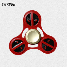 Buy YNYNOO Fidget Toys Hand Spinner Deadpools Metal Cubes Stress Spinner Game Autism ADHD Anxiety Stress Relief Focus Toys for $4.85 in AliExpress store
