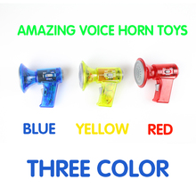 Mini LED Voice Changer Loud Superbright Children Kids Toy Sound Effects Boy