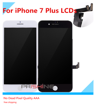 3PCS OEM Quality For iPhone 7 Plus LCD Screen With Touch Digitizer Display Assembly Replacement White Black No Dead Pixel(China)