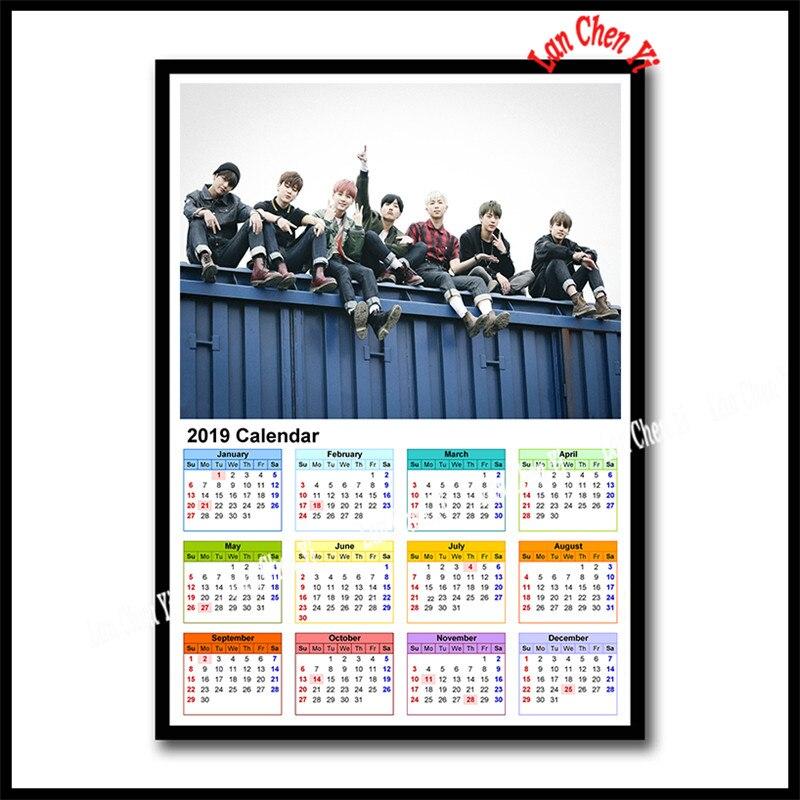 april 2019 calendar wallpaper