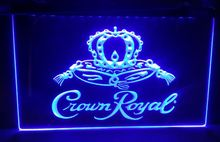 Crown Royal Derby Whiskey NR beer bar pub club 3d signs led neon light sign home decor crafts