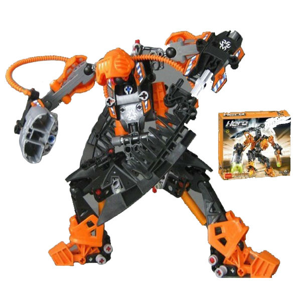 DECOOL 9367 HERO FACTORY ROTOR STAR SOLDIER WAR Demon ROTOR Robot Action figure building block set toys for Christmas<br><br>Aliexpress