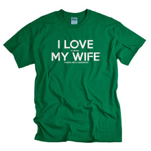 EnjoytheSpirit Funny Tshirts I Love It When My Wife Makes Me A Sandwich T-Shirt Causal Short Sleeve Shirt 100% Cotton Tops(China)