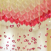 12inch 2.8g pearl balloon  pink white color Wedding Marriage Balloon Party Decor Latex Balloon Wholesale Romantic 50pcs