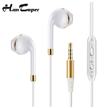 New Headphones For apple Xiaomi Earpod with mic earphone earbuds For iphone 6 4 5s Samsung fone de ouvido auriculares headset Y8(China)