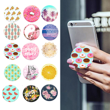 2017 New Fashion POP Finger Holder with Anti-fall Phone Smartphone Desk stand Grip Socket Mount For Apple Samsung Xiaomi