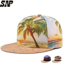 SNP color print summer style men women snapback baseball caps Fashion Trends hip hop hats caps casquette bone snapback gorras