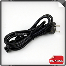 EU 3 Prong 2 Pin AC Laptop Power Cord For Asus HP Sony Toshiba Dell lenovo Acer Sumsung AC Laptop Power Cord For Adapter Charger