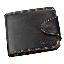 Men Purse Male Leather Business Card Holder Carteira Masculina Mens Fashion Leather ID Card Holder Billfold Purse Wallet Handbag