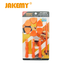 Original Jakemy OP11 repair hand tools opener for iphone ipad Pry Spudger Roller Opening Tool For IPhone 7 6 5 For IPad for IPod(China)