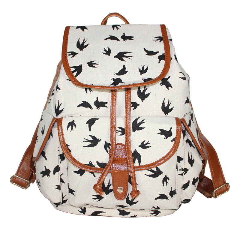 New Arrival 2017 Animal Printed 3 Colors Charming Backpack for Girl Students Shoulder Bag Rucksack For Teenagers Girls F167<br><br>Aliexpress