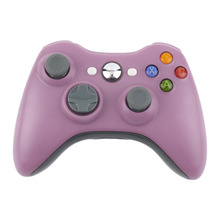 2017 Pink Color 2.4G Wireless Gamepad Joypad Game Remote Controller Joystick With Pc Reciever For Microsoft For Xbox 360 Console