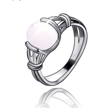 New Arrival Vintage Vampire Movies Fashion Twilight Bella moonstone rings White opal ring for women Valentine Gift jewelry