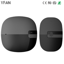 YIFAN New Waterproof Wireless Doorbell EU US Plug 350M Remote smart Door Bell Chime ring Slim 1 2 button 1 2 receiver no battery(China)