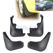 Mud Flaps For Toyota Yaris Hatchback Hatch 2005-2011 Vitz Daihatsu Charade Mudflaps Splash Guards Mudguards 2006 2007 2008 2009