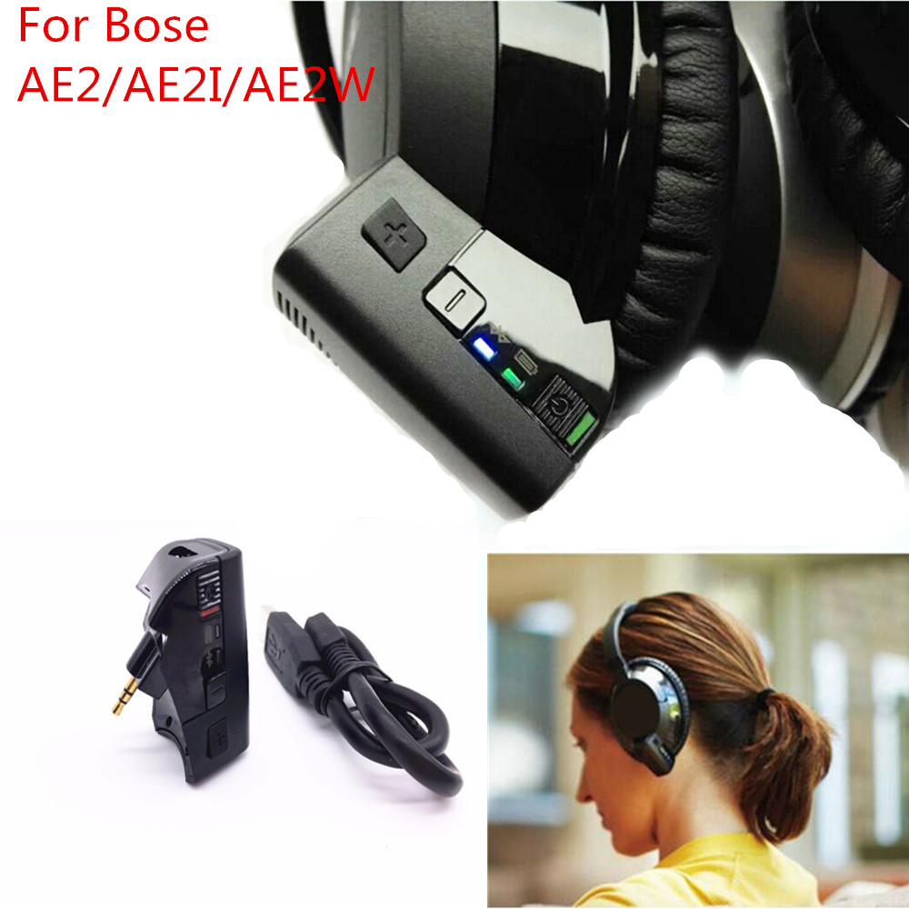 For Bose AE2w AE2 AE2i Bluetooth V4.1 Stereo Audio Transmitter Adapter Headphone Transform Into Wireless Bluetooth headset<br><br>Aliexpress