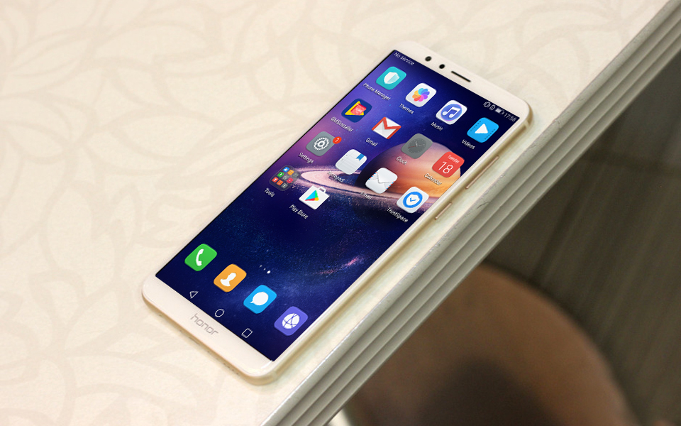 Global ROM Huawei Honor 7X 5 93