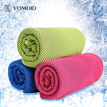 30x100cm Ice Towel  Microfiber Fabric Gym Sports Towel Enduring Cooling Towel Toalla de hielo