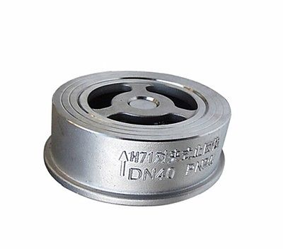 DN25 1 304 Stainless Steel Wafer Check Valve Non-return One Way Valve<br><br>Aliexpress
