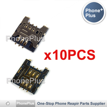 10PCS For Samsung Galaxy Nexus I9250 S I9020 I9023 I9003 Galaxy SL I8700 Omnia 7 Sim Card Reader Module Slot Tray Holder